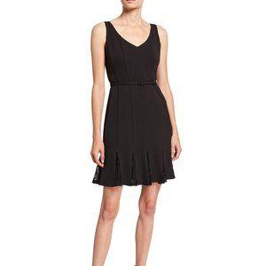 NWT Julia Jordan Seamed Lace Godet Dress